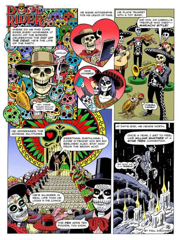 Dope Rider Day of the Dead
